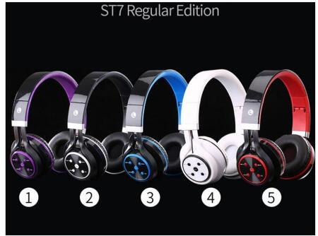 ST7 best selling mobile computer universal headset Bluetooth headset sports stereo wireless gaming headset wholesale