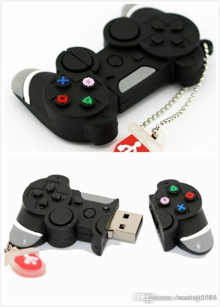 Design Real capacity Game Controller USB Flash Drive Memory Stick 64GB Super Pen Drive