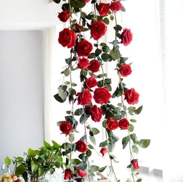 Red Rose Flower vine