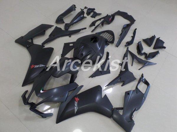 Calidad OEM Nuevo ABS Kits de carenados completos aptos para Aprilia RS4 RS125 50 125 2012 2013 2014 2015 12 13 14 15 custom Free Matte black
