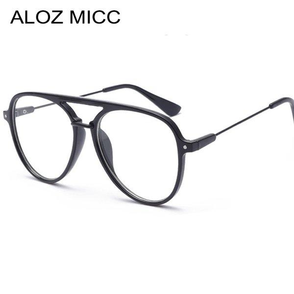 New Pilot Women Sunglasses Frames Classic Men Optics Eyeglasses 2018 Women Men Optical Acetic Clear Glasses Frame Q352