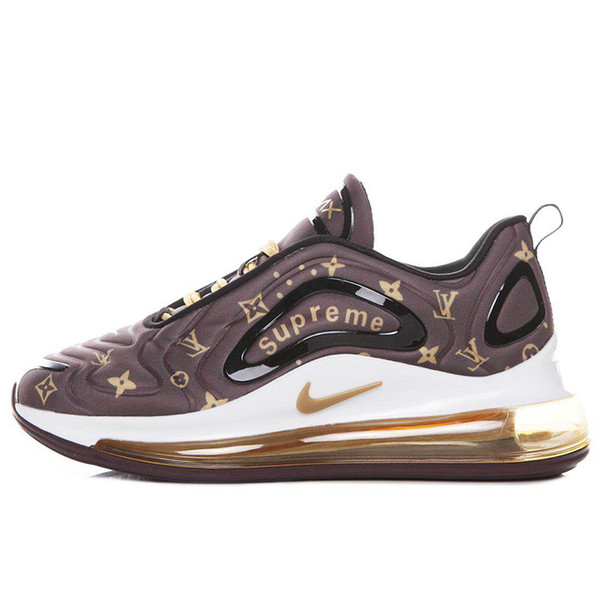 Compre Nike Air Max 720 720s 72c Airmax Zapatos Acolchados Para Hombre, Mujer, Neón, Triple, Negro, Carbono, Gris, Al Atardecer, Metalizado, Plateado,