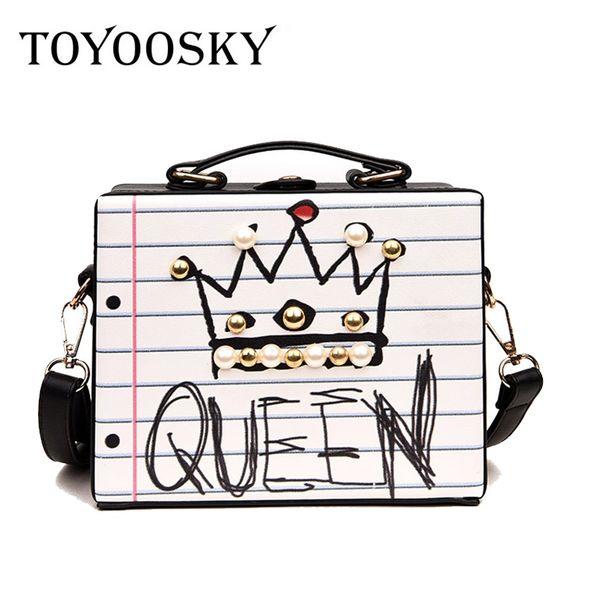 Nueva llegada de moda carta de diamantes forma de remache perla forma femenina bolso del partido monedero damas crossbody messenger bags SAC # 34617