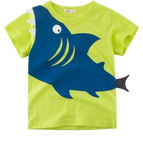 #2 Shark Printed Boys T Shirt