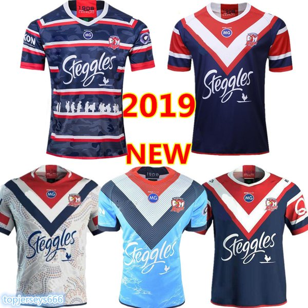 best selling 2020 SYDNEY ROOSTERS 2019 MENS ANZAC JERSEY rugby Jerseys National Rugby League rugby shirt jersey Australia Sydney Roosters shirts