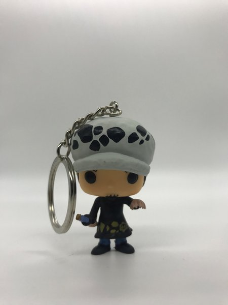 Trafalgar Law Keychain Anime Figures Valentine's Day Gifts Toys Birthdays Gifts Doll Hot Sale PVC New Arrvial Hot Sale Free Shipping