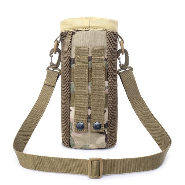 0.5L tactique Molle bouteille d'eau poche 1050D nylon housse de cantine étui sac de bouilloire de voyage en plein air