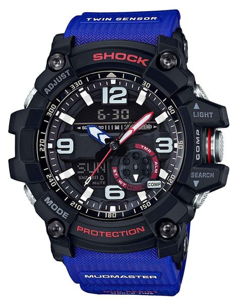 2018 11 colors Factory product men\'s sports GG1000 luxury watches men watch LED chronograph all function work waterproof with original box