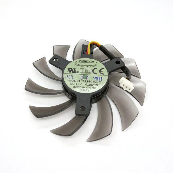 Original para HD6850 HD6870 HD6790 Tarjeta gráfica de video ventilador de refrigeración T128010SM 12V 0.20A