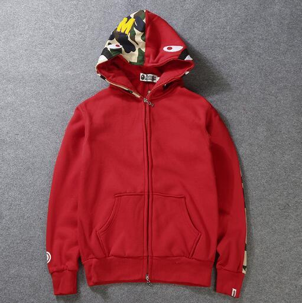 Mens women Sportwear Coat Jogger Tracksuit Pullover Fleece Sweatshirt Crewneck Bird OVO Drake Black Hip Hop stusay Hoodie Men Shark mouth
