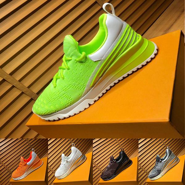 Новые классические кроссовки V.N.R с полностью трикотажной верхней мужской дышащей дизайнерской обувью Удобные повседневные кроссовки с цветным дном и коробкой