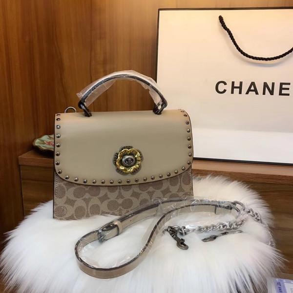 Ча 2019 леди наклонная сумка модная дизайнерская сумка лучшее качество леди сумка Размер 23 * 17