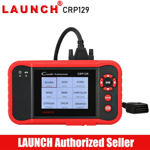 LAUNCH Creader CRP129 OBD2 Scanner Car Diagnostic Tool Auto Diagnostics Tools Autoscanner Engine ABS Airbag Scanner CRP 129