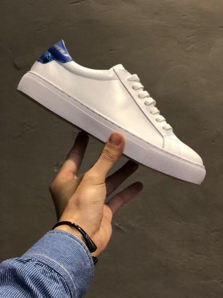 Bianco (tacco blu)