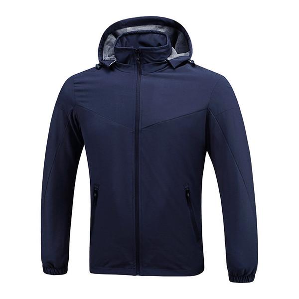 top popular Luxury Mens Designer Jackets Windbreaker Black Blue Men Women Designer Winter Jackets Mens Clothing Coat Size L-XXXL 2019