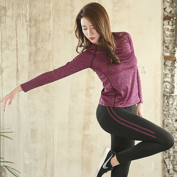 Brand Yoga Tops Slimming sportswear For Women Wholesale Fitness Outdoor Running Gym Sports Breathable Bodybuilding Clothes