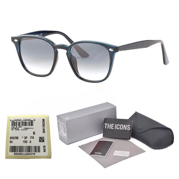 High quality UV400 glass lens Square Sunglasses Women men Brand Designer cool street men gafas sun glasses with case and and label