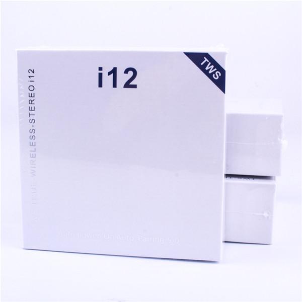 i12 tws bluetooth 5.0 беспроводные наушники bluetooth поддержка всплывающее окно наушники красочные сенсорным управлением беспроводная гарнитура наушники горячая распродажа