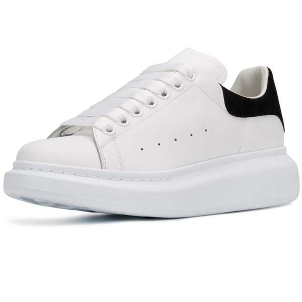 New Season Designer Shoes Fashion Luxury Women Shoes Men's Leather Lace Up Platform Oversized Sole Sneakers White Black Casual Shoes