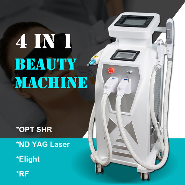 opt shr fawless hair removal treatment nd yag laser Tattoo Removal machine Elight ipl RF skin tightening face