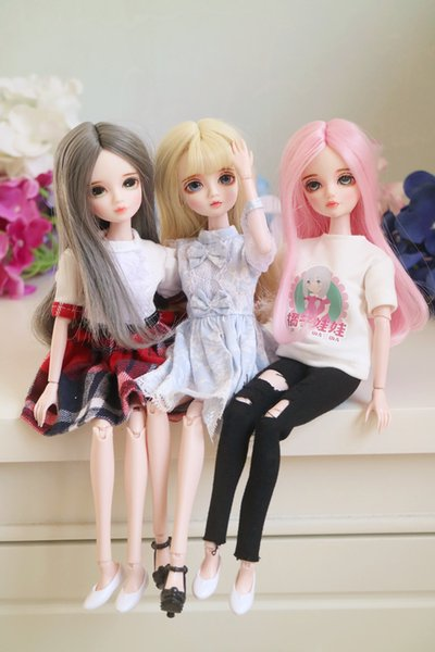 1/6 bjd SD dolls model reborn girls boys eyes High Quality resin