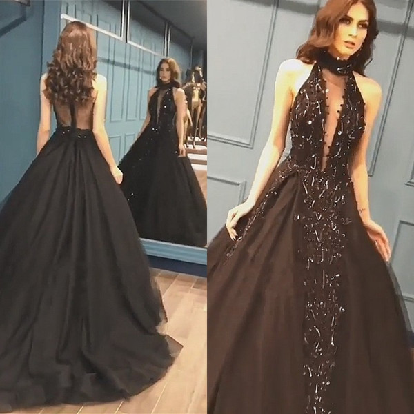 Cher Noir Tulle Robe Robe Pas Tulle 35RjALq4