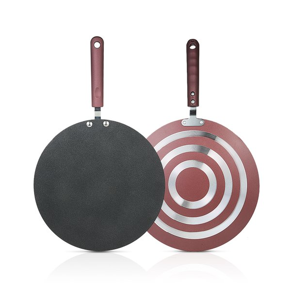 Kitchen Pancake Non -Stick Frying Pan Kitchen Tools Flat Pan Griddle Pan With Spreader And Spatula Crepe Maker Griddle