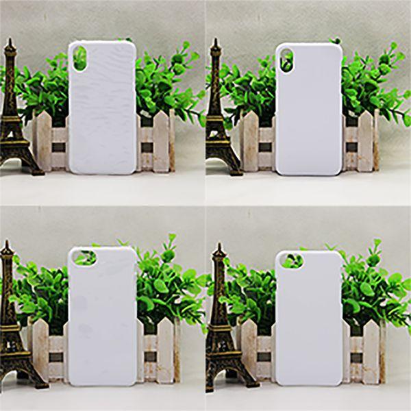 3D sublimazione Full-zona Casi stampabili mezzo busto di protezione paraurti posteriore coperture trasferimento fai da te di calore di stampa Blanks per iPhone Samsung Galaxy