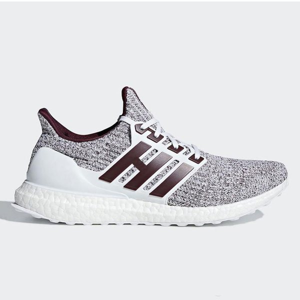 2019 Orca Noble Red Ultra Boost 4.0 Running Shoes Candy Cane Triple Black White Burgundy Primeknit Ultraboost Sports Trainer Men Women Sneakers From