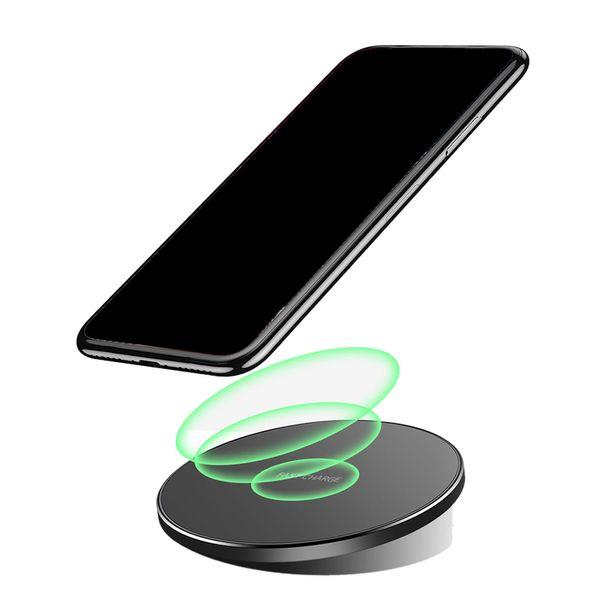 10W Qi Wireless Charger USB Ricarica Ultra Sottile Mat per iPhone X 8 XS Samsung Galaxy S8 S9 S7 Edge