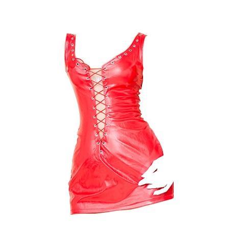 Красная Женщина тело Одежда сексуального декольте мини-юбка свободного размер Tight одежда Ролевых игр для взрослых нижнего белья