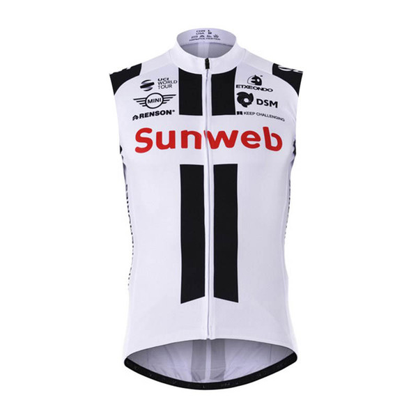 Ropa Ciclismo Men Summer SUNWEB Team Cycling Jersey Mtb bicycle Vest breathable Road Bike Sleeveless Shirt Outdoor Sport Uniform Y061804