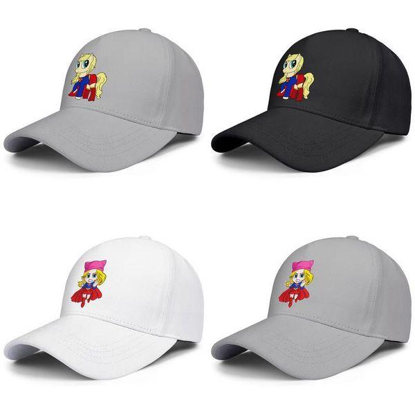 Supergirl Pony di Potrebbe Snapback Cap Trucker Mesh Cappellini Premium Fit Pescatore Unisex Hat Grab questo arrabbiato KARA bella ragazza eroe DC