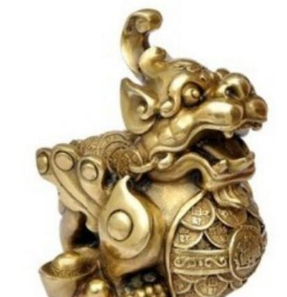 DYZ 402+++++Brave lucky talisman copper ornaments jewelry ornaments Feng Shui defends the opening