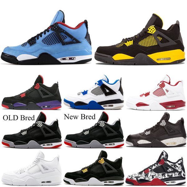 Fashion Men/'s Air J 4 Retro basketball shoes High Top Classic Sneakers size 7-13