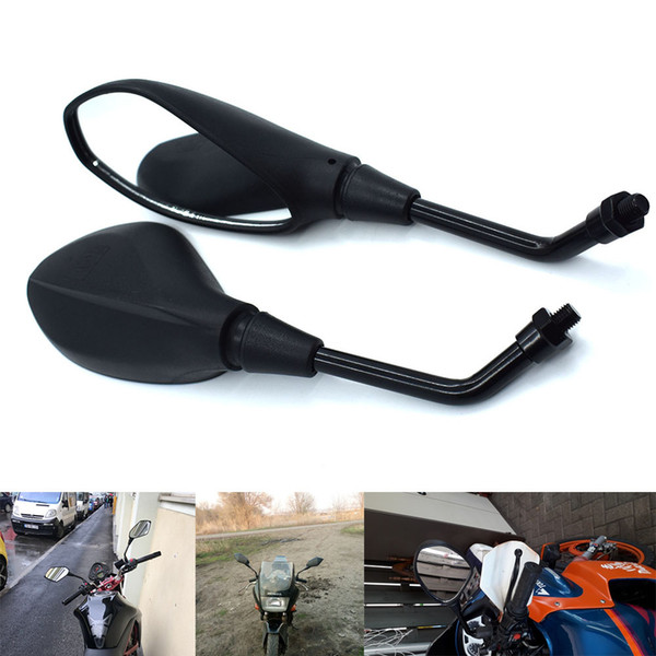 For Universal 10mm Motorcycle Rearview Mirror Left&Right Rear View Mirrors Housing Side Mirror For KTM 690 SMC/Duke/Enduro R