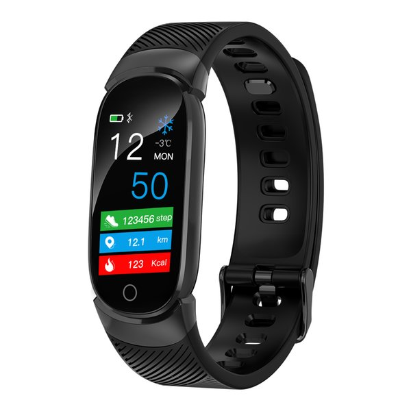 Ms. 2019 new QW16 smart bracelet heart rate and blood pressure healthy Bluetooth sports watchBluetooth Smart Watch