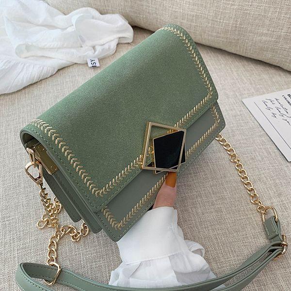 Кожа Scrub небольшой Crossbody Сумка для женщин 2019 Chian плеча сумки Мешком Главной Женский Путешествия Сумки и кошельки вечерних сумок