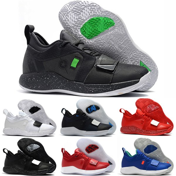 huge selection of baef0 43eb7 2019 New Paul George Pg 2.5 Kids Basketball Shoes Men Red Space Jam Moon  Exploration Oklahoma PG 2 Zapatos Shoes Tennis Shoes For Girl Running Shoes  ...