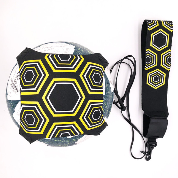 best selling Top quality Soccer ball Solo Kick belt Trainer Training Equipment Trainer football kinetic elastic cord stretches Drop Ship