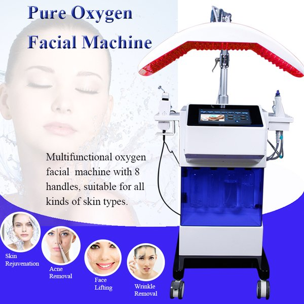 Best result microdermabrasion hydrafacial blackhead removal water dermabrasion diamond peel oxygen spray beauty machine hydro facial