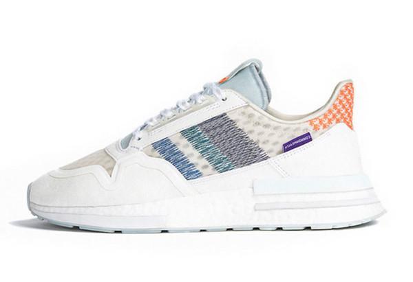 Nova 2019 Commonwealth X Original Zx 500 Rm Rainbow Running Shoes Para A Qualidade Superior Desconto Esportes Formadores Das Mulheres Dos Homens de Jogging Zx500 36-45