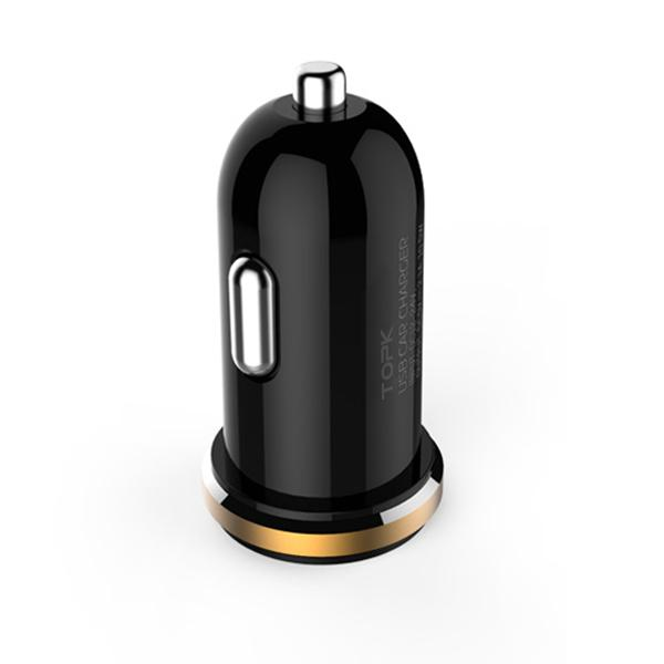 Original 5V 2A Dual Port Mini USB Car Charger Quick Charge Car-charger for iPhone 7 6 6s 5s 5 Samsung Xiaomi HTC Huawei