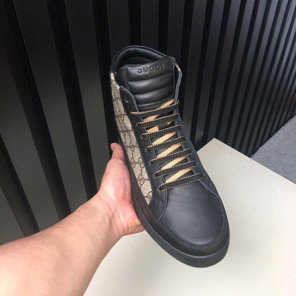 K37New édition limitée française série chaussures pour hommes haut de gamme casual, bottes pour hommes chaussures de sport de mode, livraison gratuite boîte à chaussures d'origine 38-44