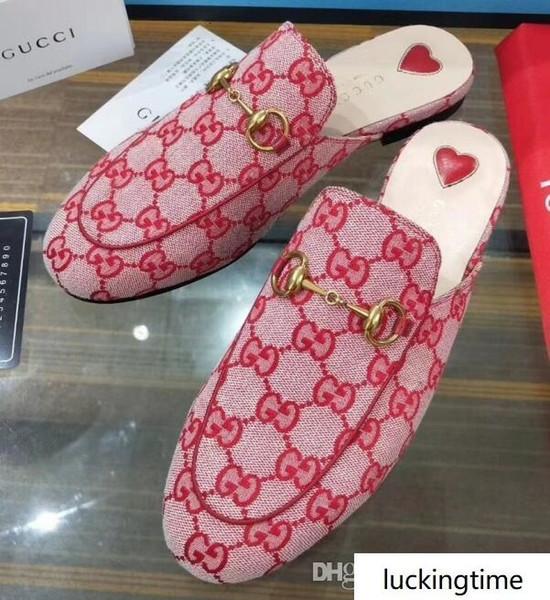Прибыл Женщины с плоским эспадрильи обувь Повседневная Сандалии Кожа Half Drag тапочки флип-флоп 35-40