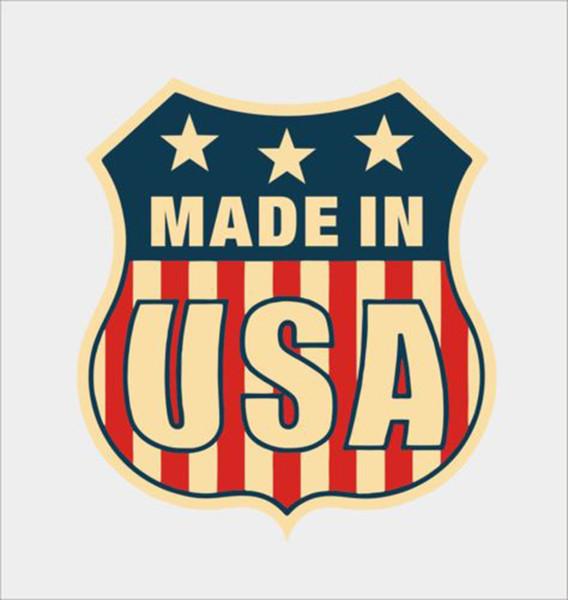 Für Amerikanische Flagge American Car Laptop Macbook Helm Auto Vinyl Aufkleber Aufkleber Persönlichkeit Zubehör