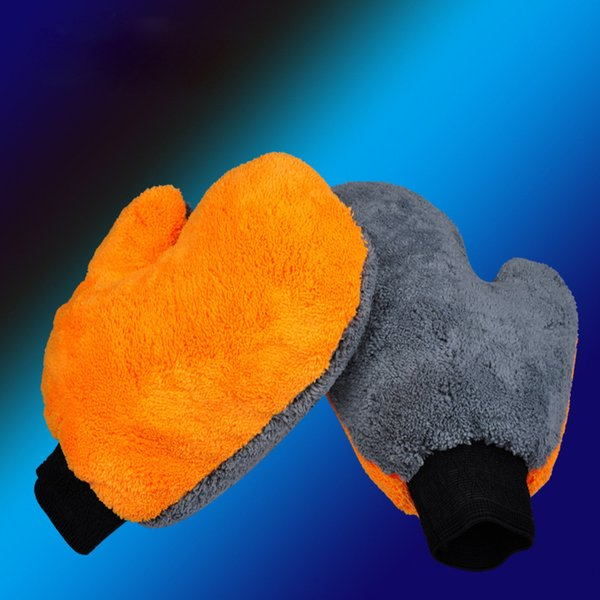 Car Wash Cloths Glove Mitt Soft Mesh Backing No Scratch Ultrafine Fiber Chenille Microfiber For Car Wash And Cleaning