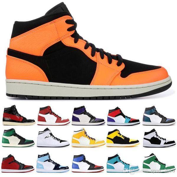 1 OG new Mens Basketball Shoes Chicago Black White Pine Green Homage To Home Top Paris Saint German 1s Men Designer Sneakers