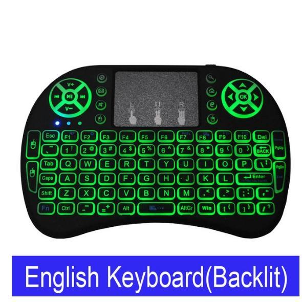 لوحة المفاتيح الخلفية