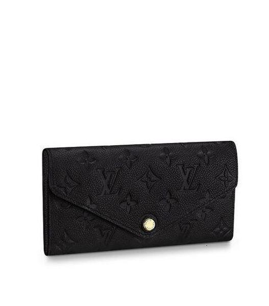 M62372 Joséphine Wallet Frauen Echtes Leder lange Mappen-Kette Wallets Compact Purse Kupplungen Abendschlüsselkartenhalter